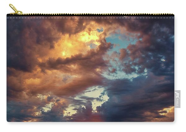 Finger Painted Sunset Carry-all Pouch