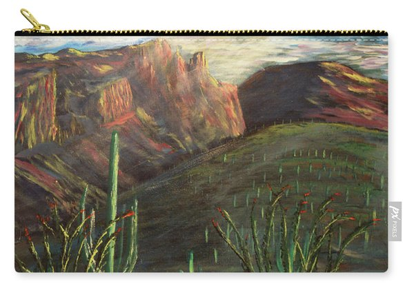Finger Rock Morning Carry-all Pouch