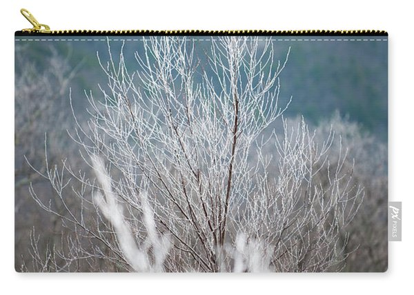 Fingers Of Hoarfrost Carry-all Pouch