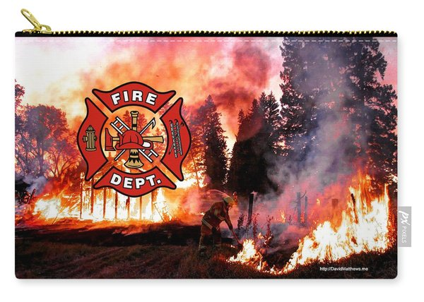 Fire Fighting 3 Carry-all Pouch