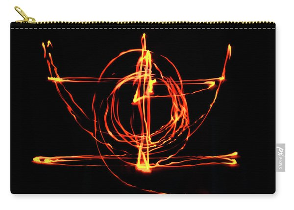 Fire Light Drawing Carry-all Pouch