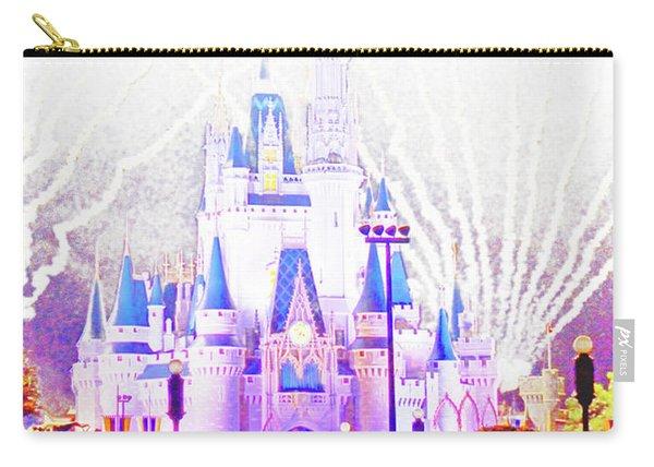 Fireworks, Cinderella's Castle, Magic Kingdom, Walt Disney World Carry-all Pouch