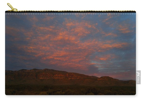 First Light Over Texas 3 Carry-all Pouch