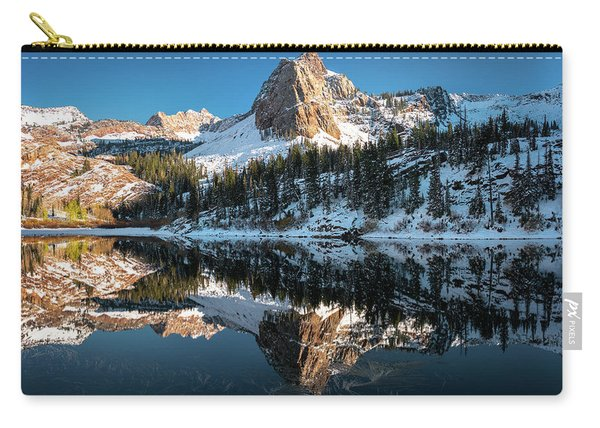 First Snow At Lake Blanche Carry-all Pouch
