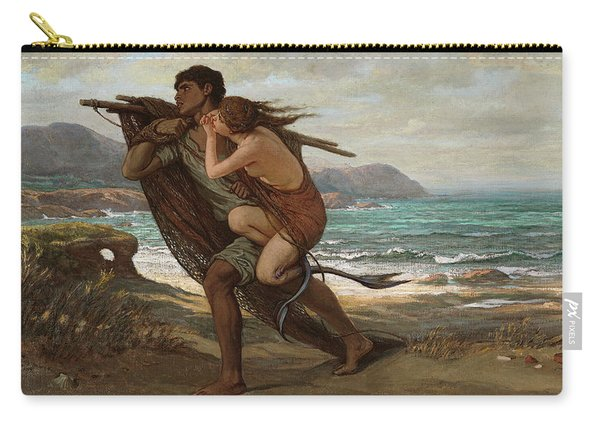 Fisherman And Mermaid, 1889 Carry-all Pouch