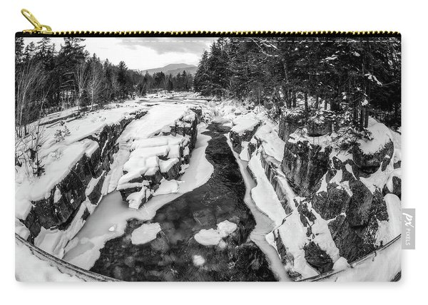 Fisheye View, Rocky Gorge Nh Carry-all Pouch