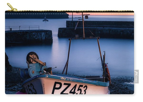 Fishing Boat In Mullion Cove Carry-all Pouch