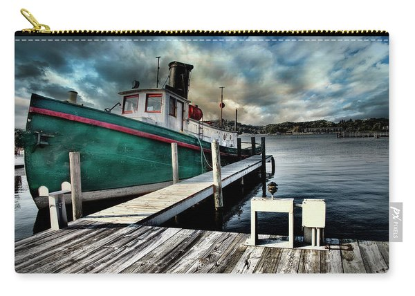Fishing Boat In Saugatuck Carry-all Pouch