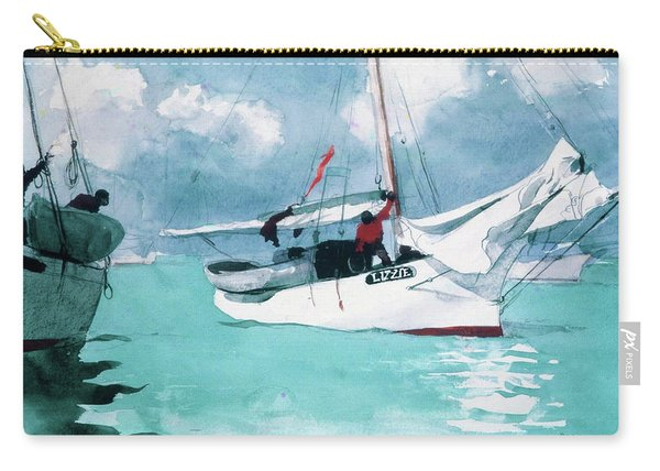 Fishing Boats, Key West - Digital Remastered Edition Carry-all Pouch