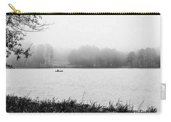 Fishing In The Fog Carry-all Pouch