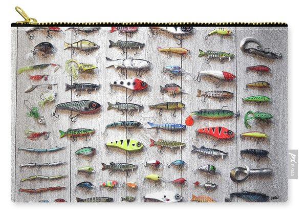 Fishing Lures - Dwp2669219 Carry-all Pouch