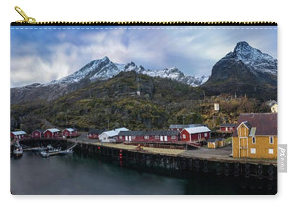 Fishing Village A On Lofoten Carry-all Pouch
