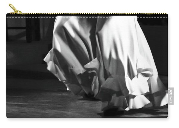 Carry-all Pouch featuring the photograph Flamenco 40 by Catherine Sobredo