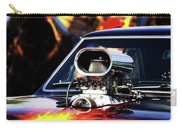 Flames To Go Carry-all Pouch