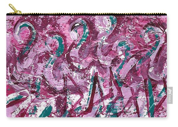 Flamingo Expression Carry-all Pouch