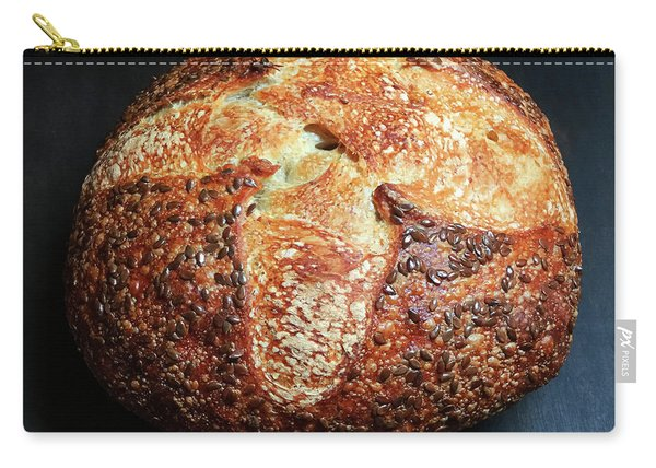 Flax Seed Sourdough 2 Carry-all Pouch