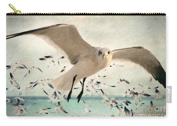 Flight Of The Gulls Carry-all Pouch
