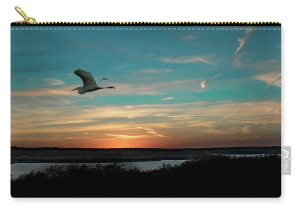 Flight To The Lake Carry-all Pouch