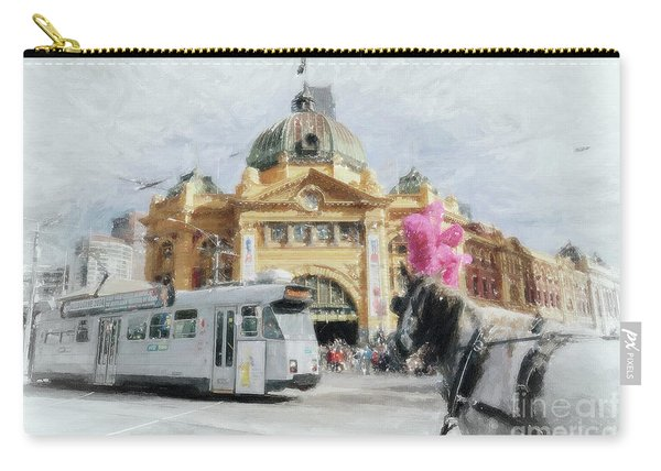 Flinders Street Station, Melbourne Carry-all Pouch