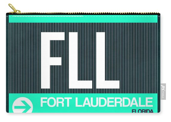 Fll Fort Lauderdale Luggage Tag II Carry-all Pouch