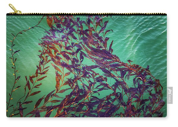 Floatin Kelp I Color Carry-all Pouch