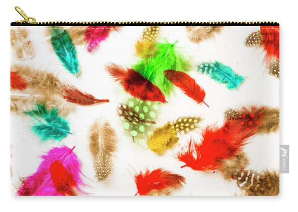 Floating In Colourful Abstract Carry-all Pouch