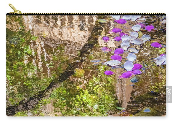 Floating Magnolia Petals Carry-all Pouch