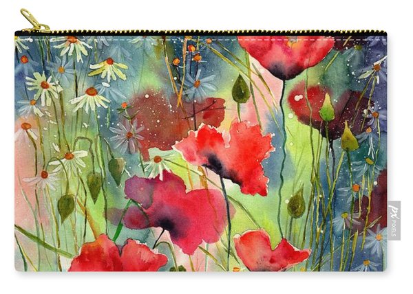 Floral Abracadabra Carry-all Pouch