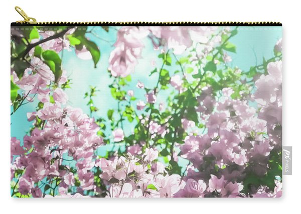 Floral Dreams Iv Carry-all Pouch