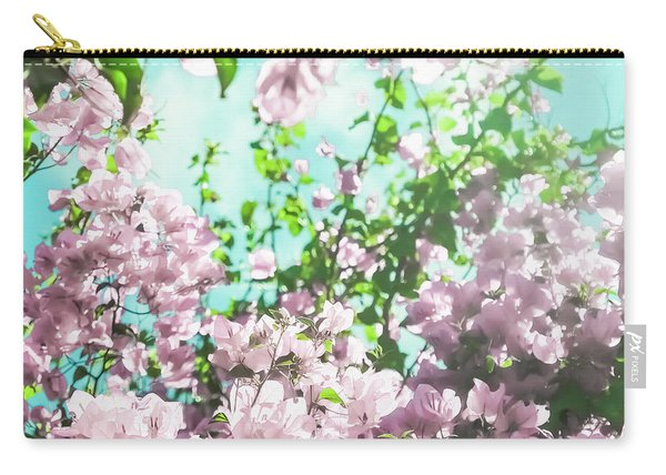 Floral Dreams V Carry-all Pouch