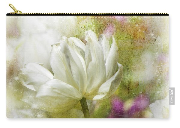 Floral Dust Carry-all Pouch