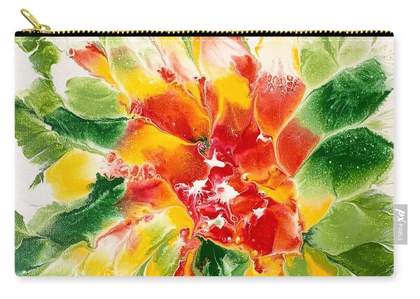 Floral Flourish 2 Carry-all Pouch