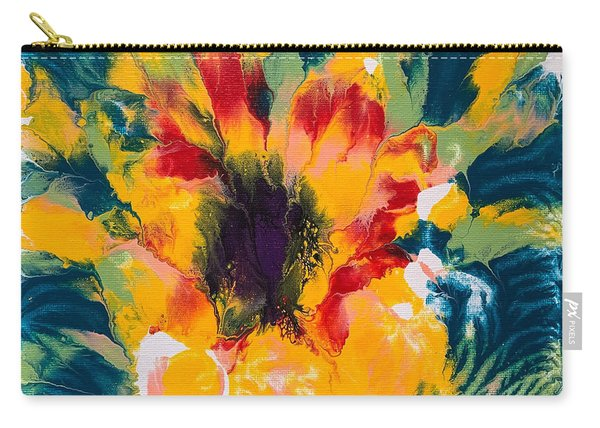 Floral Flourish 3 Carry-all Pouch
