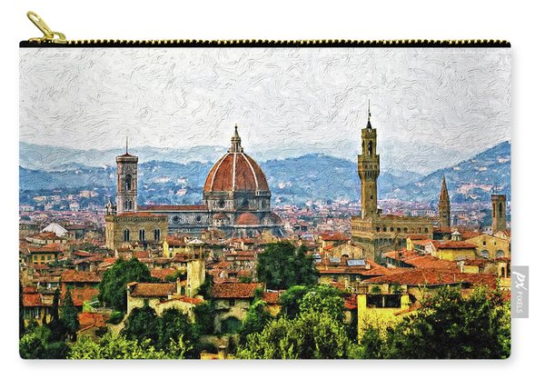 Florence Impasto Carry-all Pouch