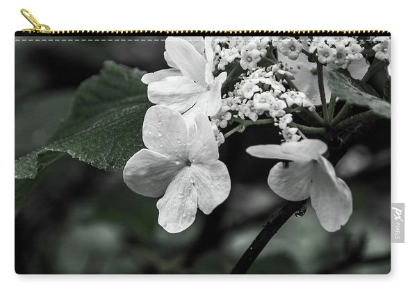 Flower And Rain Drops  8645 Carry-all Pouch