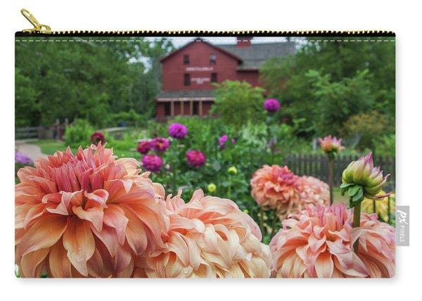 Flower Garden At Bonneyville Mill Carry-all Pouch