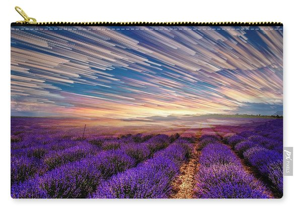 Flower Landscape Carry-all Pouch