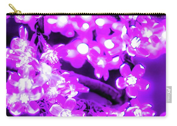 Flower Lights 2 Carry-all Pouch