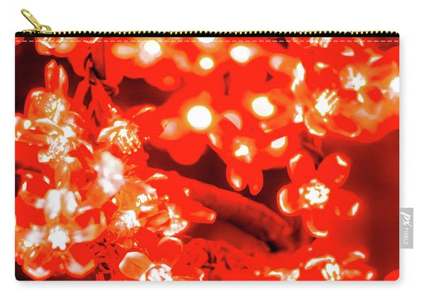 Flower Lights 4 Carry-all Pouch