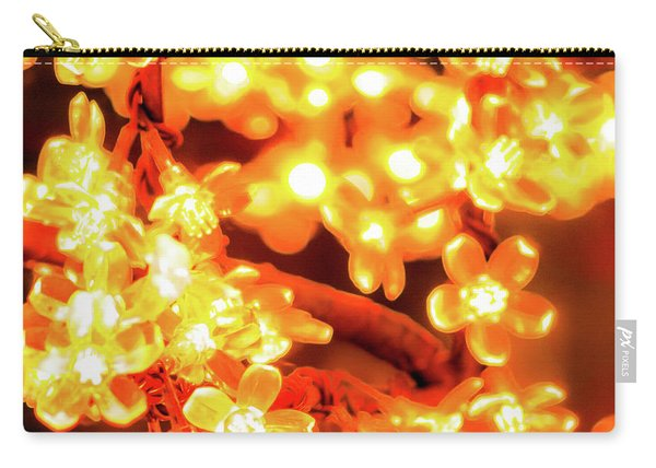 Flower Lights 5 Carry-all Pouch