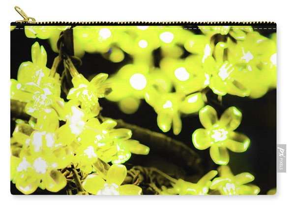 Flower Lights 6 Carry-all Pouch
