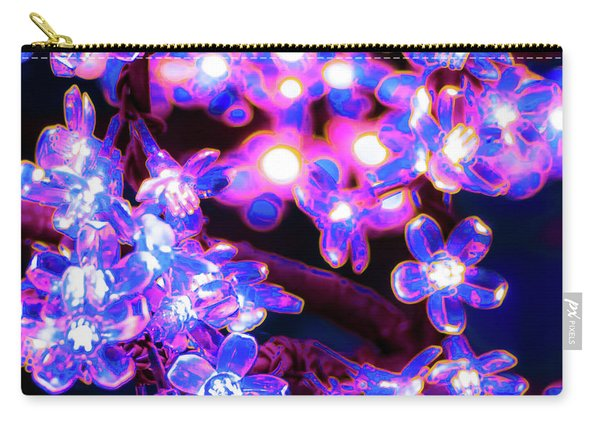 Flower Lights 8 Carry-all Pouch