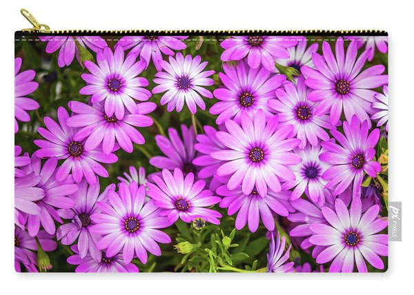 Flower Patterns Collection Set 04 Carry-all Pouch