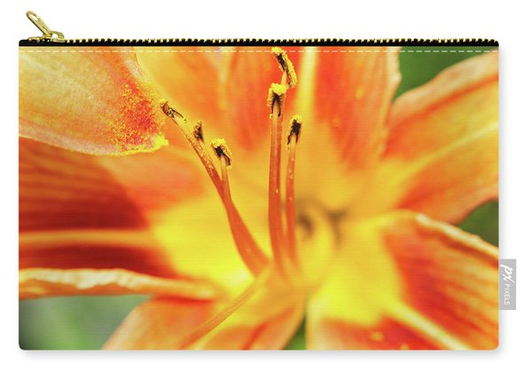 Flower Pollen Carry-all Pouch