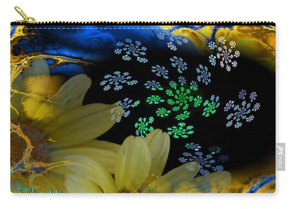 Flower Power In The Modern Age Carry-all Pouch