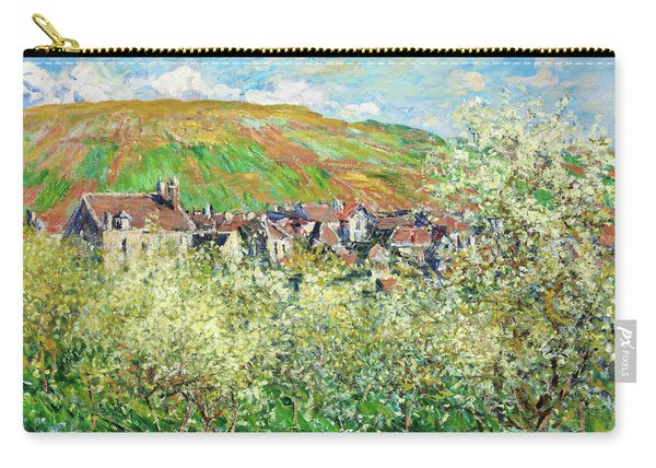 Flowering Plum Trees - Digital Remastered Edition Carry-all Pouch