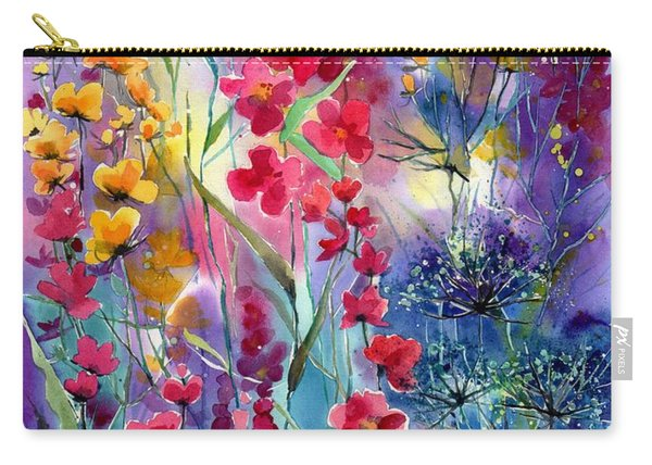 Flowers Fairy Tale Carry-all Pouch
