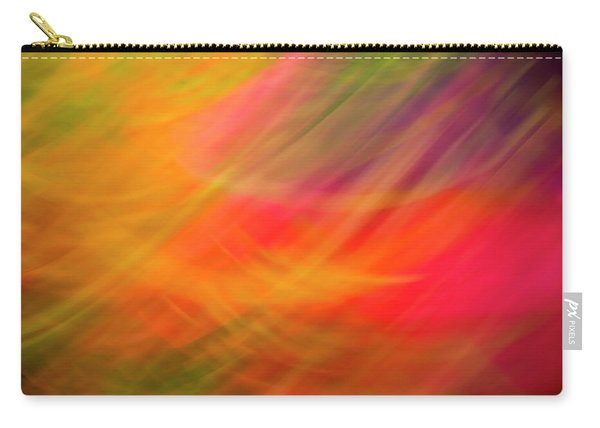 Flowers In Abstract Carry-all Pouch