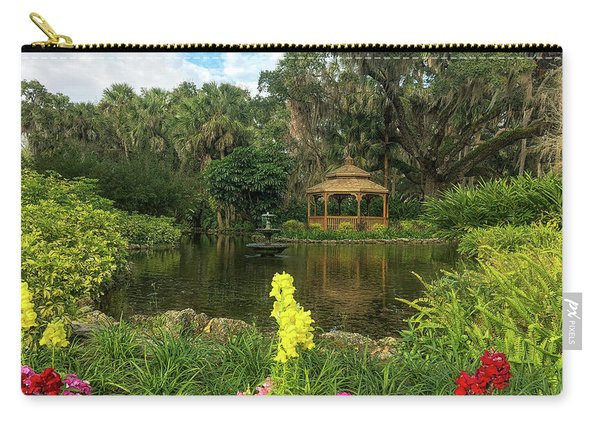 Flowers To Gazebo By The Lake Carry-all Pouch