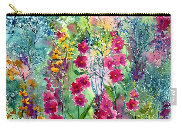 Flowery Fairy Tales Carry-all Pouch